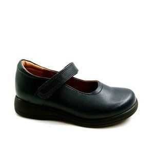 First Semester Leapa Mary Jane Flat Black 12 New